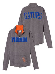 University of Florida Raw Half-zip Pullover, I absolutely NEED this. :)