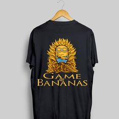 Minions Game of Bananas Game of Thrones shirt is the only product we designed for you on this season. Minions, Game of Bananas, Game of Thrones shows people your characteristic. Game Of Thrones Show, Game Of Thrones Shirts, Minions Funny Images, Minions Quotes, Funny Minion, Minion Games, Minions Despicable Me, Banana Games, Happy Birthday Minions