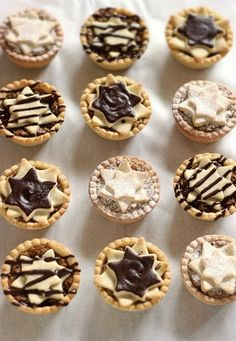 Hungarian Desserts, Hungarian Recipes, Waffle Cake, Mini Tart, Mince Pies, Small Cake, Sweet And Salty, Winter Food, Christmas Baking