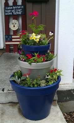 My flower pot project