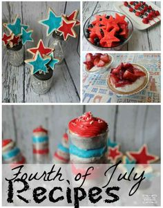 4th of July Recipes | Round Up of My Favorites