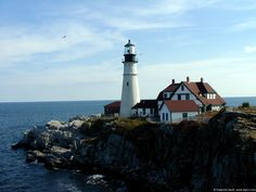 Maine...I would love to relax for a month here.