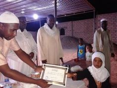 اختتام مسابقة حفظ القران الكريم للفتيات   بأوباري