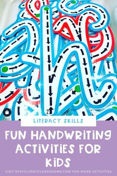 This resource and activity is a fun way for young learners to learn letter formation and practice handwriting. The resource is available in different fonts and can be laminated to make them a write and wipe activity. Get your here now. Jolly phonics | Letter formation rhymes | Teaching letter formation Alphabet Activities, Early Literacy, Motor Activities, Reading Activities, Kindergarten Activities, Kids Writing, Writing Resources, Writing Skills, Teaching Resources