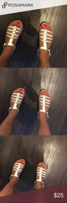 Gap Gold Metallic Strap Sandals... Gap Gold Metallic Strap Sandals... GAP Shoes Sandals