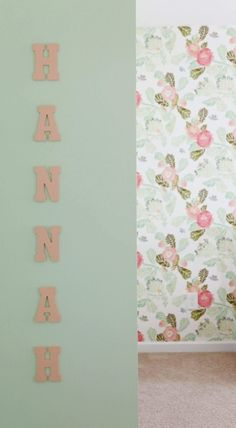 Baby Girl Nursery Ideas | Floral Nursery Inspiration