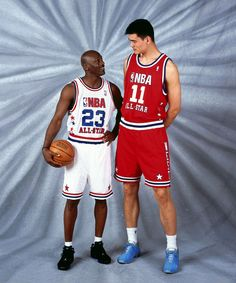 MJ and YaoMing