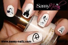 Cute Disney Nail Decal Stickers!