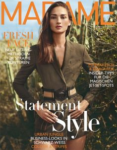 Bruna Tenorio on Madame Germany Magazine April 2016 Cover