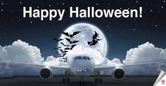 Hainan Airlines, Happy Halloween, Aircraft, Aviation, Plane, Airplanes, Planes, Airplane