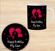 Accessories Elegant Printed Ceramic Coffee Mug  Material: Mug - Ceramic, Coaster - MDF Capacity: Mug - 350 ml, Coaster - 9 cm Description: It Has 1 Piece Of Mug With 1 Piece Of Coaster Work: Printed Sizes Available: Free Size *Proof of Safe Delivery! Click to know on Safety Standards of Delivery Partners- https://ltl.sh/y_nZrAV3  Catalog Rating: ★4.3 (1976)  Catalog Name: Beautiful Elegant Printed Ceramic Coffee Mugs With Coaster CatalogID_759969 C127-SC1621 Code: 581-5148950-