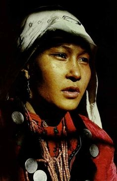 Woman of Kirghiz nomads, Central Asia  National Geographic | April 1972