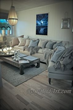 Beauty Shabby Chic Living Room Ideas Splendid Romantic and shabby chic coastal living room. Who wouldn't want to snuggle into that sofa! The post Romantic and shabby chic coastal living room. Who wouldn't want to snuggle i… appeared first on Home Decor . Coastal Living Rooms, Living Room Grey, Home And Living, Living Spaces, Cozy Living, Small Living, Coastal Cottage, Coastal Style, Living Area