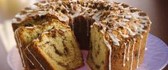 Savor a classic!  A brown sugar, nut and spice filling is layered and baked in a rich sour cream coffee cake.