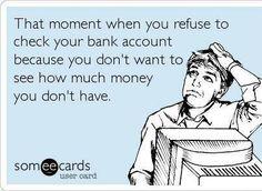 hahahaha like every day of my life.