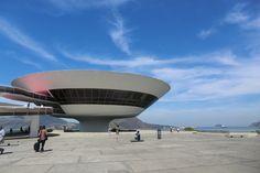 Built by Oscar Niemeyer in Niterói, Brazil with date 1996. Images by Gili Merin…
