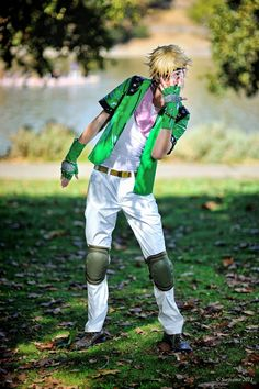 Caesar Antonio Zeppeli from Jojo's Bizarre Adventure by Cosplayer Fabulous Maxwell | acparadise