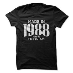 Awesome T-shirts [Best Sales] Made in 1988 - Aged to Perfection from (3Tshirts)  Design Description: Tees and Hoodies available in several colors  If you do not utterly love this Shirt, you can SEARCH your favorite one via the use of search bar on the header.... -  #shirts - http://tshirttshirttshirts.com/automotive/best-sales-made-in-1988-aged-to-perfection-from-3tshirts.html