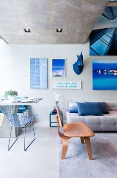 Localizado em um dos bairros mais badalados e valorizados de São Paulo, este apartamento de 100 metros quadrados, na Vila Olímpia, ganhou uma atmosfera contemporânea e jovial de seus morador...