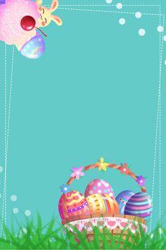 416 Semana Santa Promoción Conejo Easter Wallpaper, Framed Wallpaper, Holiday Wallpaper, Easter Projects, Easter Crafts, Preschool Crafts, Crafts For Kids, Foto Frame, Easter Backgrounds