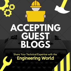 If you are looking for a platform to share your technical expertise or engineering findings with the engineering community then we invite you submit your article on  contact@engineeringworldchannel.com  Please feel free to repin or share this pin so that others can also benefit.