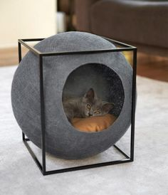 16 DIY Cat Beds That We Can't Wait to Put Together - Cheezburger