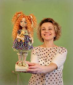 Магазин мастера Кукольные нежности от Ариши: коллекционные куклы, одежда для кукол, мишки тедди, игрушки животные