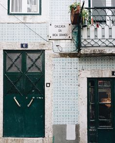 These streets... every turn finding new tiles and colors to adore. #BTinLisbon #Portugal #Lisbon #mytinyatlas