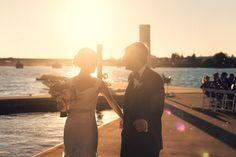 boathouse wedding Backdrop Frame, Backdrops, Minimal Decor, Boat Dock, Boathouse, Weddings, Couples, Modern, Minimalist Decor