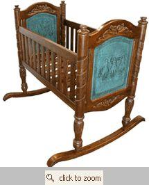 Western crib - so cute!