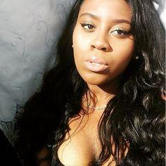 Beautiful Girl @sammisupreme With Fashion Hair @longqihair 3PCS Lot 7A Brazilian Virgin Hair Body Wave Unprocessed Virgin Brazilian Body Wave Hair Weave Bundles Human Hair Weft Longqihair
