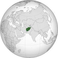 File:Afghanistan (orthographic projection).4 ŞUBAT 1998 - Afganistan'da 6,1 şiddetinde deprem: 5.000 den fazla kişi öldü.