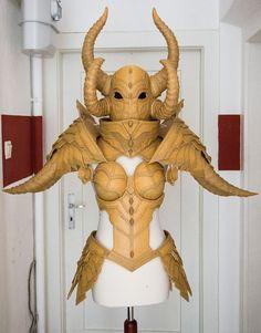 making costume armor   Crusader - Diablo III