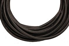 Full-grain leather cord, 3mm round black 5 yard * Review more details @ http://www.laminatepanel.com/store/full-grain-leather-cord-3mm-round-black-5-yard/?lm=260616233059