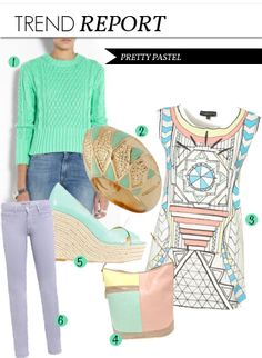 2014  PASTEL FASHION TRENDS | TREND-PASTEL