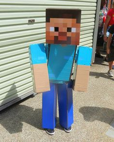 Buy Box Head Steve for $10.50 at Walmart and then dress your pixel-sized friend & 12 best Steve Costume images on Pinterest | Steve costume Minecraft ...