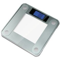 Ozeri Precision II Digital Bath Scale (440LB Edition) with Widescreen Blue Xbright LCD and Step-on Activation
