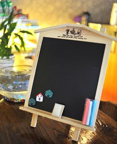 zakka grocery wooden blackboard little house ornaments can be hung with bracket shooting props C0803, View zakka, Product Details from Yiwu Bense E-Commerce Firm on Alibaba.com