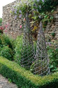 Garden Obelisks For The Clematis I Want To Grow...metal Or Wood?