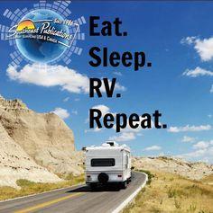Eat. Sleep. RV. Repeat.