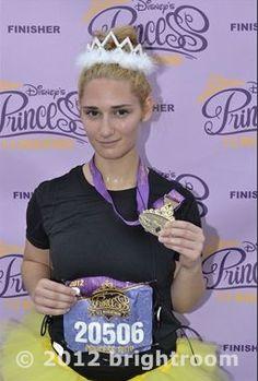 Disney Princess 1/2 Marathon - FINISHER! 13.1.