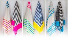 LOVE these beach towels #SunnyJim  http://sunnyjim.com.au/shop/moroccan-cotton-towels/