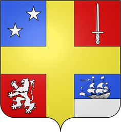 File:Blason fr Baron Julien Marie Cosmao-Kerjulien.svg Rock Club, Liberia Africa, Ski Club, Tango, Projects To Try, Playing Cards, Father, Romania, Artist