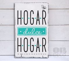 Cartel vintage   Hogar dulce hogar pajarito - comprar online Crafty Projects, Vintage Decor, Ideas Para, Diy And Crafts, Sweet Home, Lettering, Baby Shower, Words, Homemade