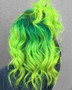 59 Amazing Dyed Hair for Winter Style - nation-toptrendsp. - 59 Amazing Dyed Hair for Winter Style – nation-toptrendsp… – 59 Amazing Dyed Hair for Winter Style – - Vibrant Hair Colors, Hair Dye Colors, Bright Hair, Colorful Hair, Bright Green, Green Hair Dye, Dye My Hair, Green Hair Girl, Lilac Hair