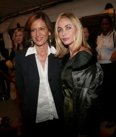 Anne Fontaine and Emmanuelle Beart:写真・画像