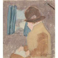 Gwen John for Sale at Auction on Wed, - - European, American, Modern & Contemporary Art European American, American Modern, Gwen John, Antique Books, Art Auction, Painting Inspiration, Painting & Drawing, Contemporary Art, Watercolor