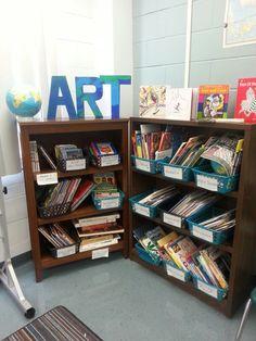 Art room library