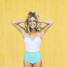 Cutest modest swimsuit!