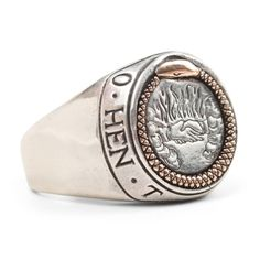 Ouroboros Signet Ring  Digby and Iona- Jewelry - Catbird